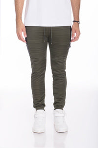 ESSENTIAL MARBLE JOGGER- OLIVE | gymgiantgear