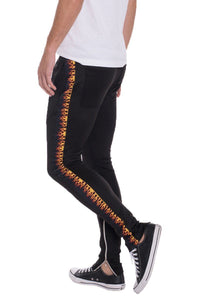 FLAME TRACK PANTS | gymgiantgear