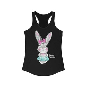 Happy Together Bunny Racerback Tank Top | gymgiantgear