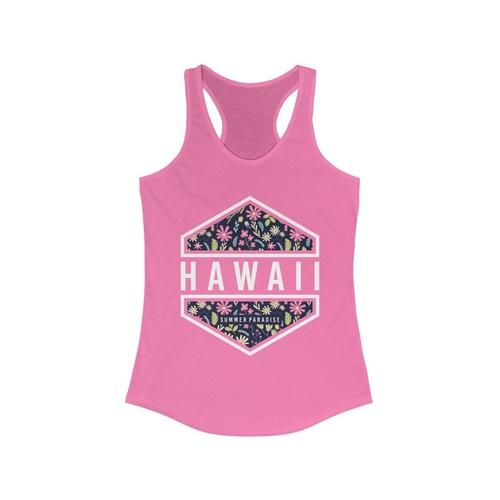 Hawaii Vacation Paradise Racerback Tank Top | gymgiantgear