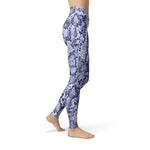 Load image into Gallery viewer, Jean Blue Snake Skin | gymgiantgear