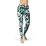 Load image into Gallery viewer, Jean Green White Camo | gymgiantgear