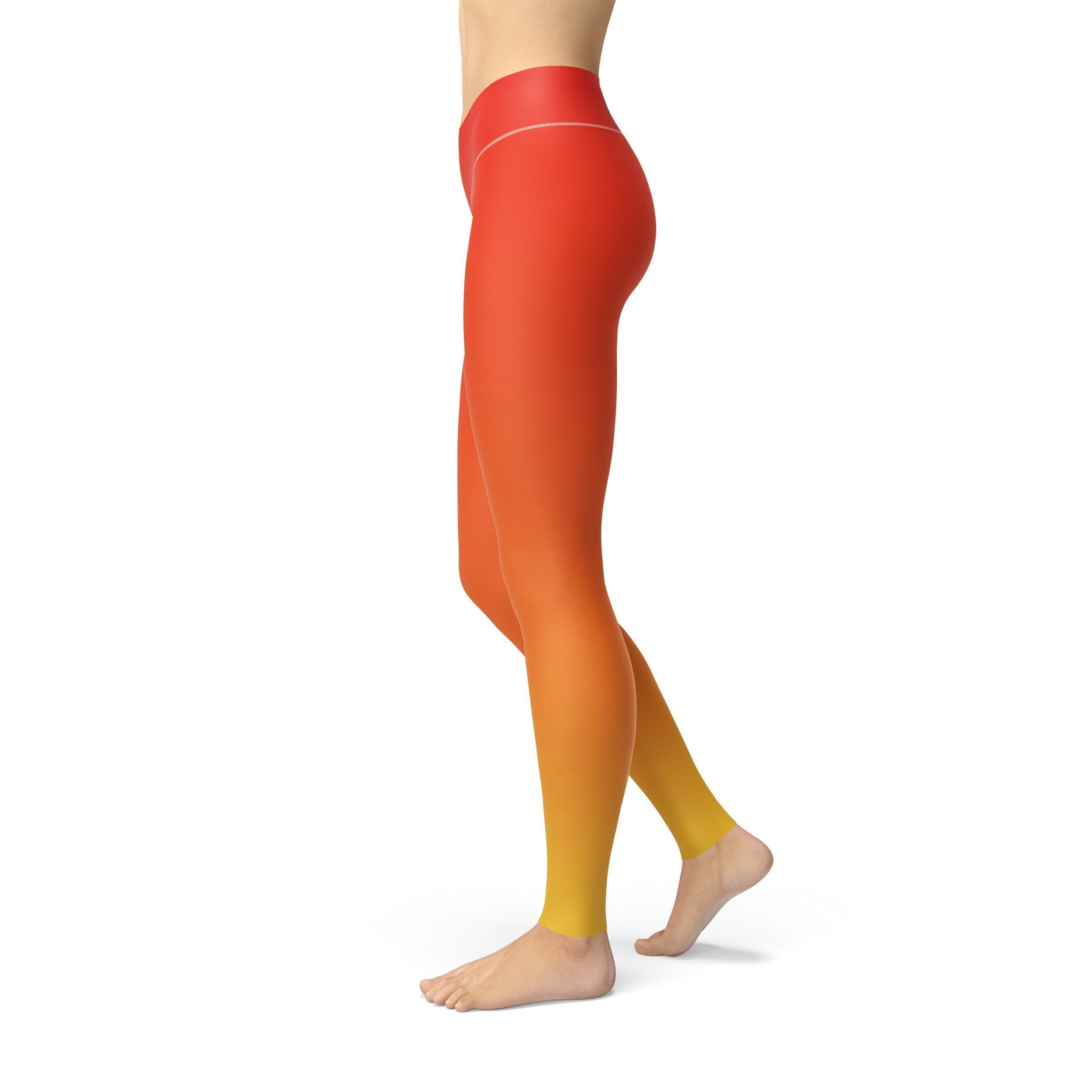 Jean Red Yellow Ombre | gymgiantgear