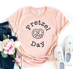 Load image into Gallery viewer, Pretzel day T-shirt | gymgiantgear