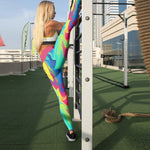 Load image into Gallery viewer, Rainbow Liquid Beverly | gymgiantgear