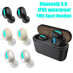 Load image into Gallery viewer, True Wireless Bluetooth 5.0 Earbuds TWS Sport | gymgiantgear