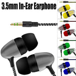 Load image into Gallery viewer, Universal 3.5mm In-Ear Stereo Earbuds Earphone For | gymgiantgear