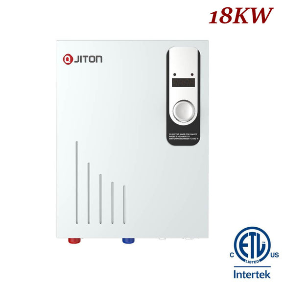 JITON Electric Tankless Water Heater Model No.JD180FDCH 18.0kW