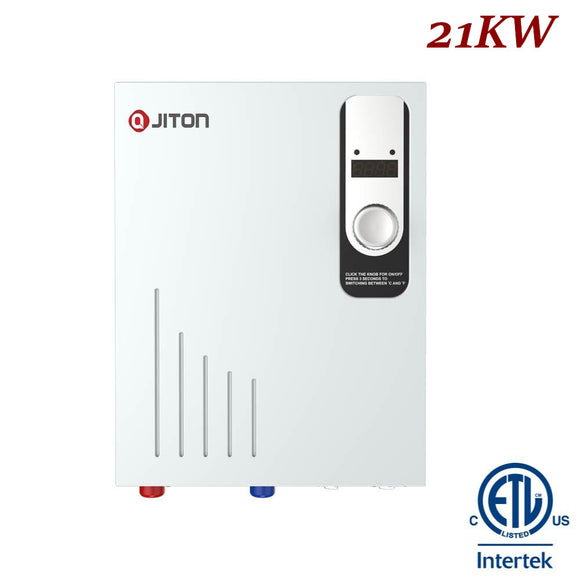 JITON Electric Tankless Water Heater Model No.JD210FDCH 21.0kW
