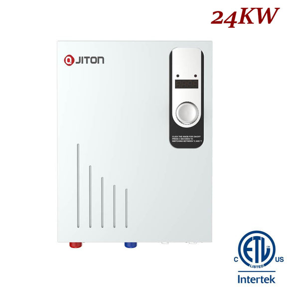 JITON Electric Tankless Water Heater Model No.JD240FDCH 24.0kW
