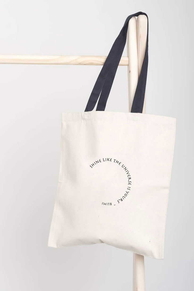 """Shine"" Tote Bag"