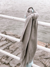 Load image into Gallery viewer, Oversized Super Soft Grey Scarf