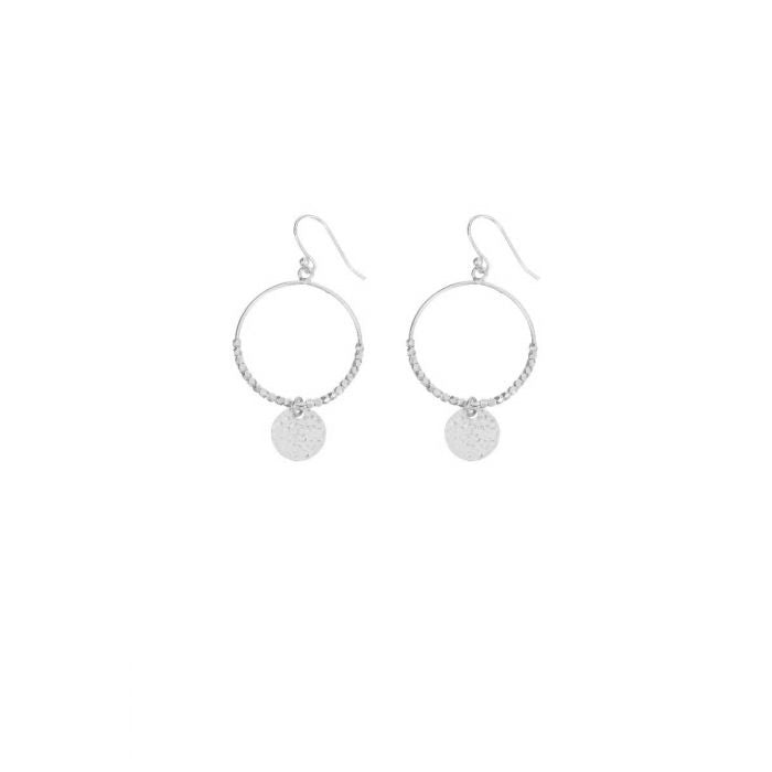 Dominique Mini Hoops - Silver