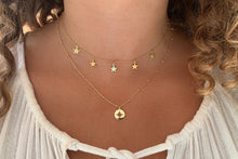 Load image into Gallery viewer, Vermouth Gold Compass Star Necklace