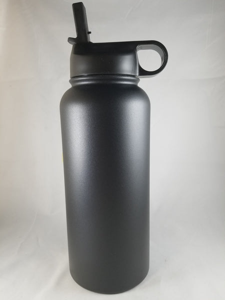 Custom Water Bottle 32oz w/ Straw