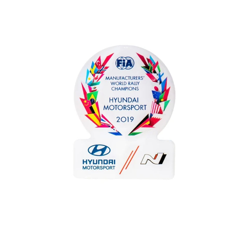 Manufacturers' Championship Victory Pin 2019