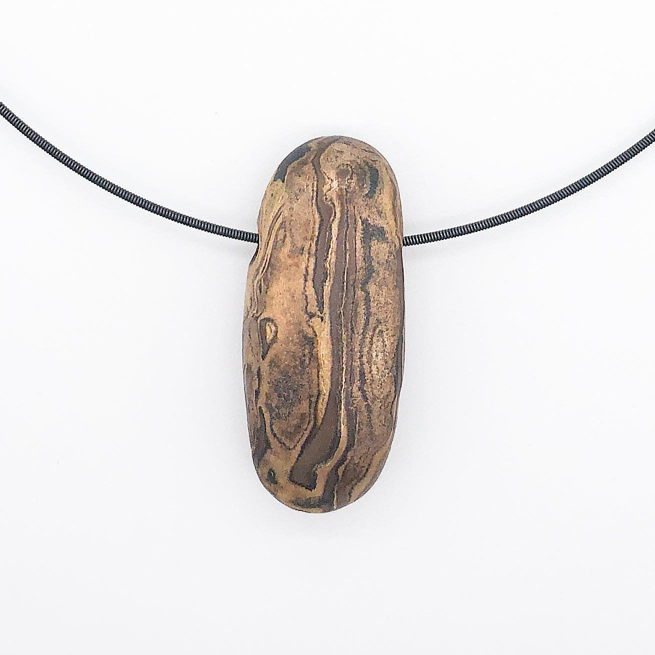 Touchstone - Makume Gane Pebble Necklace -sold