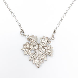 Wine Leaf Necklace