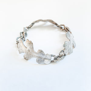 Oak Leaf and Branch Bracelet -sold