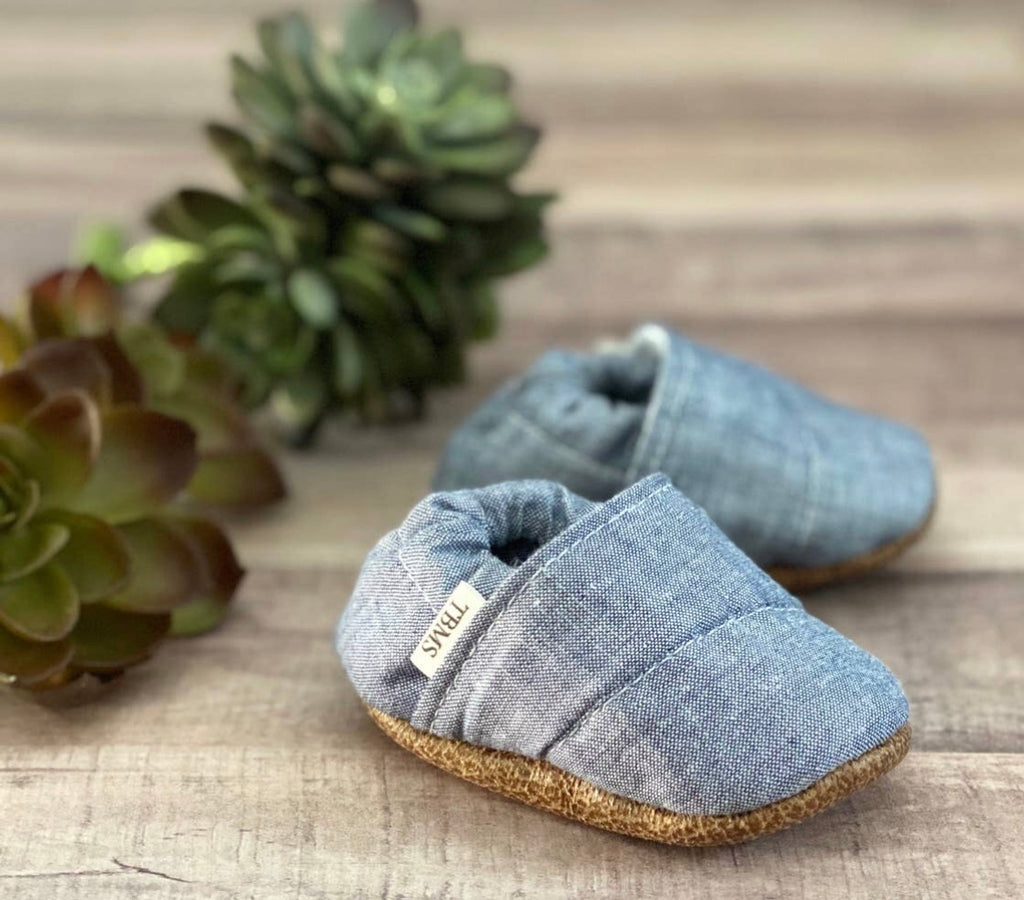 The Braeden Lee Denim Moccasin