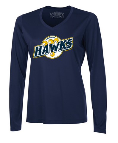 Hamilton Hawks long Sleeve Dri-fit