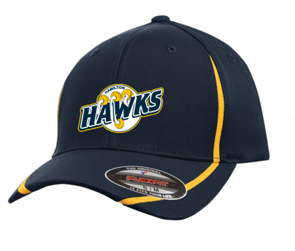 Hamilton Hawks Flex Fit Full Back Hat