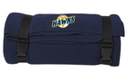 Hamilton Hawks Fleece Travel Blanket