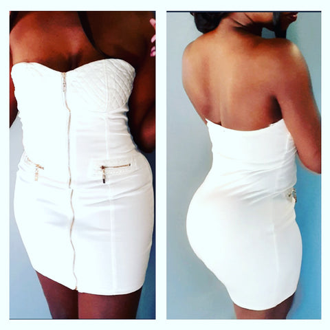 Nefertiti White Dress