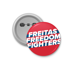 Freitas Freedom Fighters Button (Red, 4-pack)