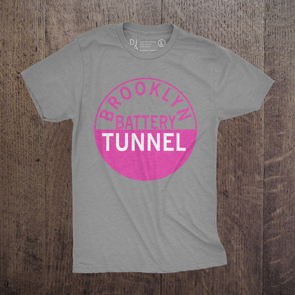 Battery Tunnel Pink - Mens