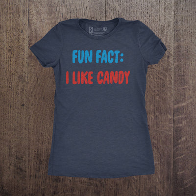 Fun Fact I Like Candy - Womens