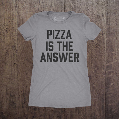 Pizza is the answer