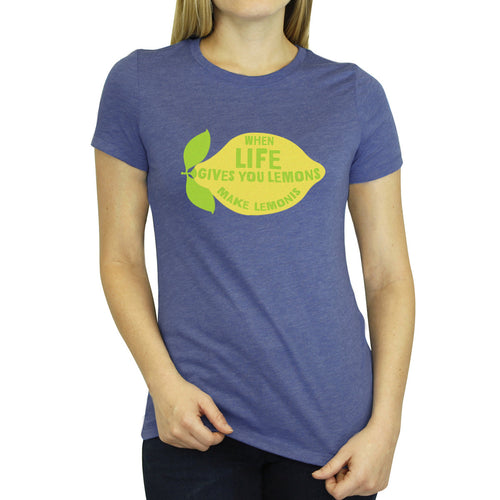 When Life Gives You Lemonis - Womens