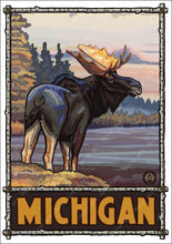 Load image into Gallery viewer, Retro Michigan Tourism Prints