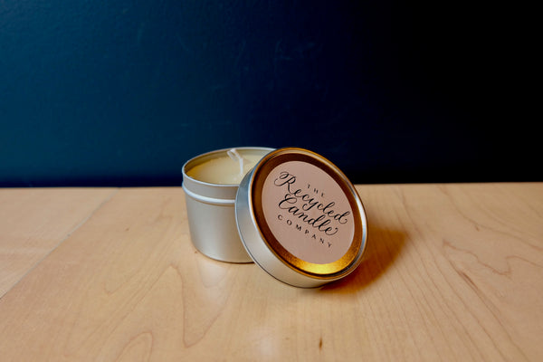 The Recycled Candle Co. Bitter Orange & Ylang Ylang Tin