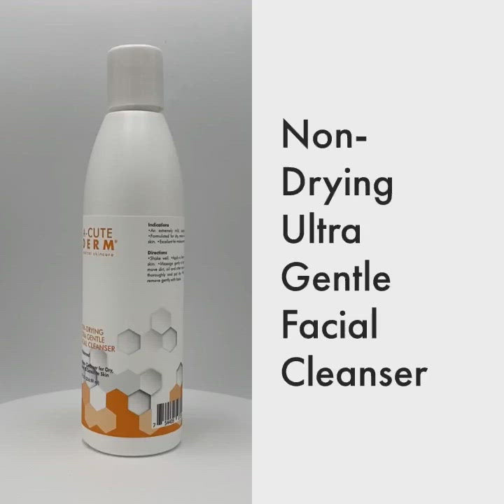 An extremely mild and soap-less cleanser that will not dry the skin; designed for mature, dry to normal skin types. Perfect for anti-aging treatments and anyone with any type of sensitivity. Can even remove most makeup and can be used when water is not available. pH neutral.