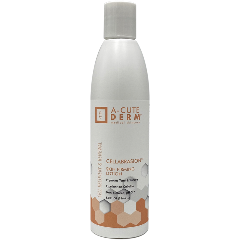A translucent skin firming lotion formulated to improve the appearance of cellulite. Improves the overall tone and texture of the skin. Lightens minor discoloration.