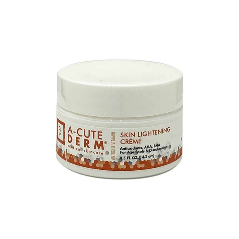 Skin Lightening Crème is an extremely effective bleaching formulation that goes deep into the skin to get to the root of the discoloration deep in the dermis The unique blend of ingredients removes dead cells to improve penetration into the skin while improving tone, texture and discoloration.