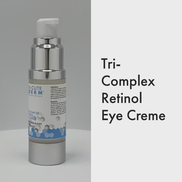 Utilizes active Retinol along with Vitamins C & E making this combination great for anti-inflammatory capabilities along with creating skin normalization. Reduces fine lines and wrinkles while re-moisturizing the peripheral tissue.