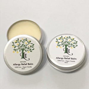 Natural Antihistamine Balm for Seasonal Allergy Relief, Bites, Stings, Rashes