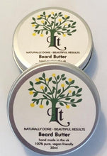 Load image into Gallery viewer, Beard Butter Hydrates Moisturises and Softens, Giving A Healthier Looking Beard - LemonTree Natural Skin Care
