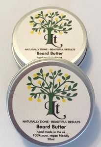 Beard Butter Hydrates Moisturises and Softens, Giving A Healthier Looking Beard - LemonTree Natural Skin Care