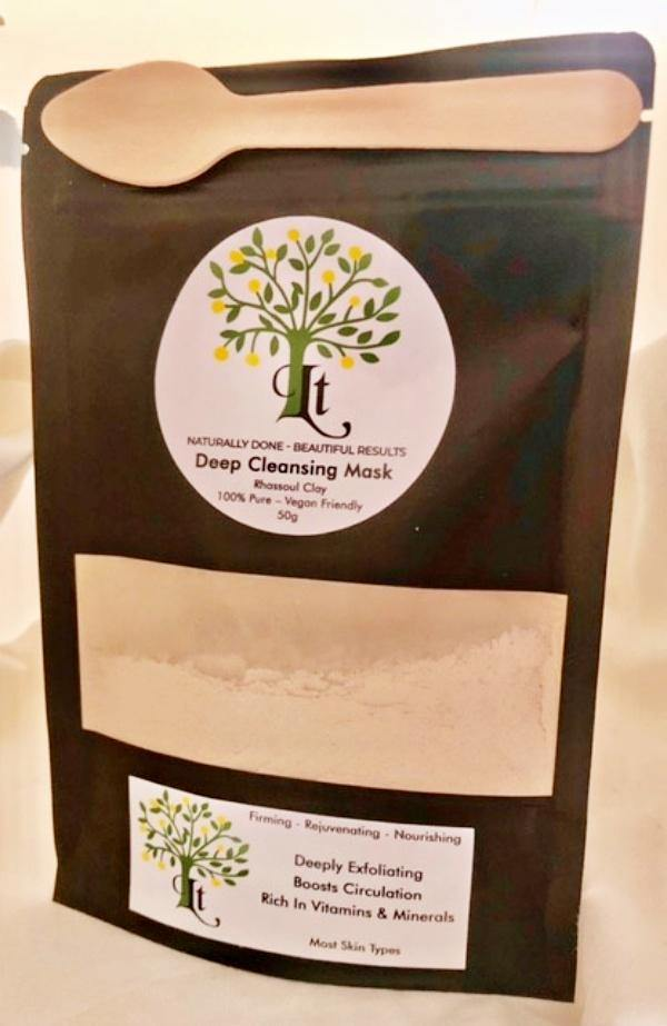 Rhassoul Clay Deep Cleansing Mask Firming Rejuvenating And Nourishing Most Skin Types