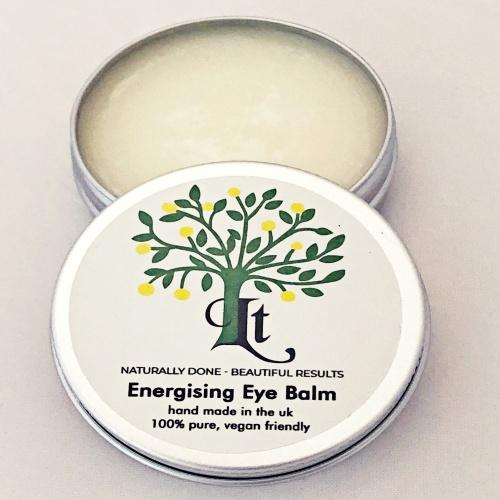 Energising Eye Cream, Perk Up Tired Eyes, Combat Puffiness, Improve The Appearance Of Wrinkles. - LemonTree Natural Skin Care