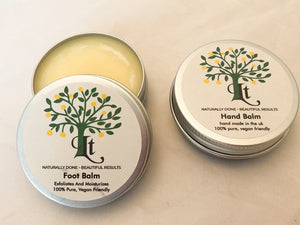 Hand And Foot Balm, Repair  Rejuvenate And Moisturise Dry Tired Hands And Feet - LemonTree Natural Skin Care