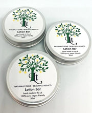 Load image into Gallery viewer, Moisturising Lotion Bars Skin Nourishing Oils Stimulating Aroma All Skin Types - LemonTree Natural Skin Care