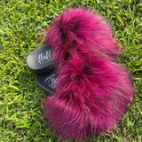Stormi Fur Slides