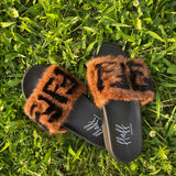 Rich Girl Fur Slides