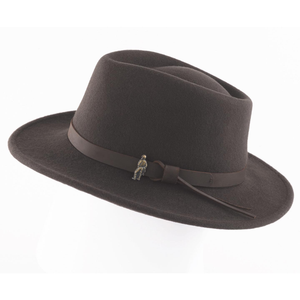 Jack Murphy Boston Hat, Brown