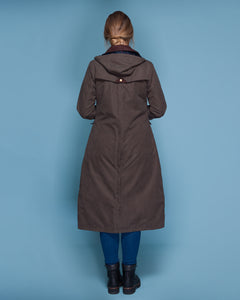 Erin Waterproof Coat - Olive